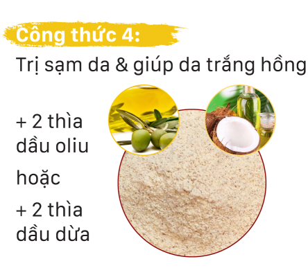 bột-đậu-đỏ-với-dầu-oliu